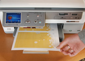 printer printing bridge picture