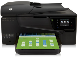 Hero shot of HP Officejet 6700 Premium e-All-in-One
