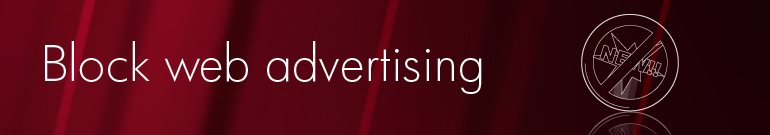 Block web advertising