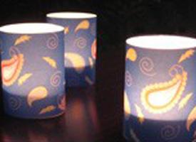 Vellum lanterns