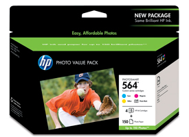 HP 564 Series Photo Value Pack