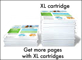 Get more prints with XL ink cartridges