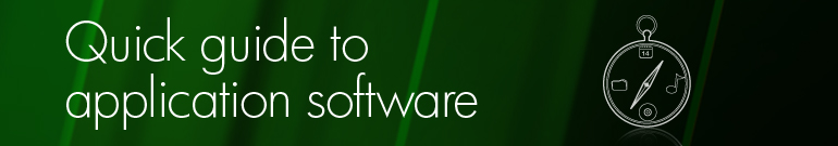Quick guide to application software