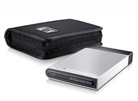 The HP 500 GB Pocket Media External Hard Drive