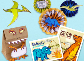 Dinosaur Party Kit