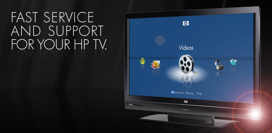 HP TV Service & Support