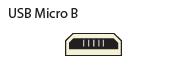 Micro-B USB or Micro-AB USB