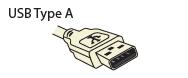 Standard USB Type A
