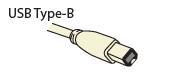 Standard USB Type B