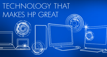 Technology that makes HP great