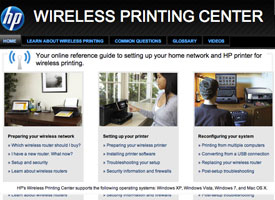 Wireless Printing Center