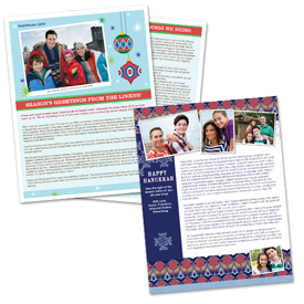Festive and Hanukkah newsletters