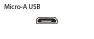 Micro-A USB or Mircro-AB USB