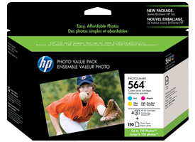 Original HP 564 photo value pack