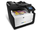 HP LaserJet Pro CM1415fnw  Color e-Multifunction Printer