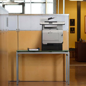 office printer on table