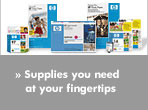Supplies you need at your fingertips