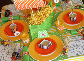 kids' table decorations