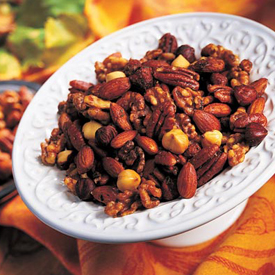 photo of Spicy Herb Roasted Nuts