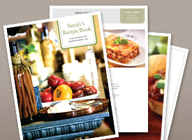 photo of HP cookbook templates