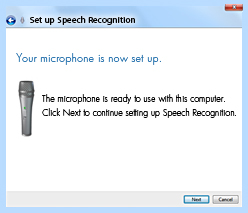 Windows® 7 Tip 5: Control your PC with your voice