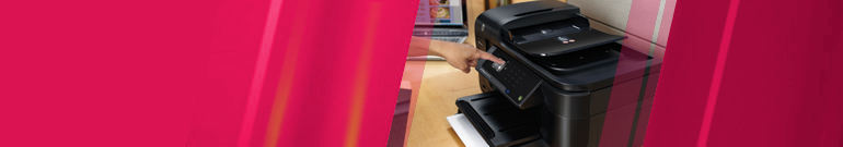 Using touchscreen on HP Officejet 6500A Plus